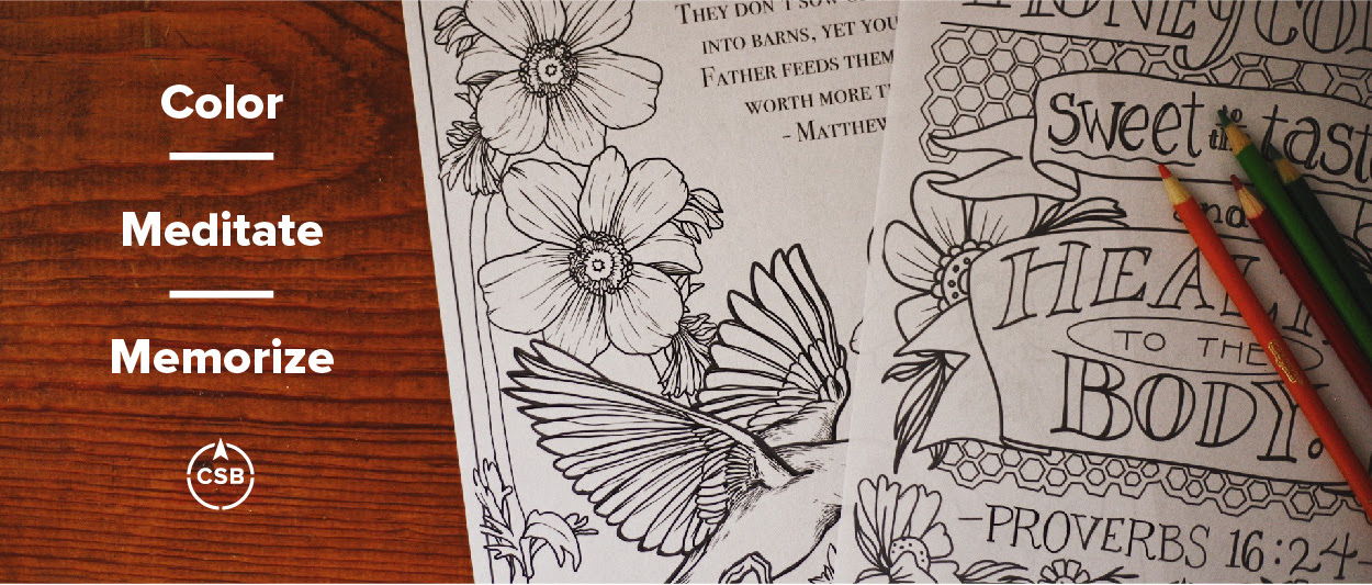 CSB Coloring Pages